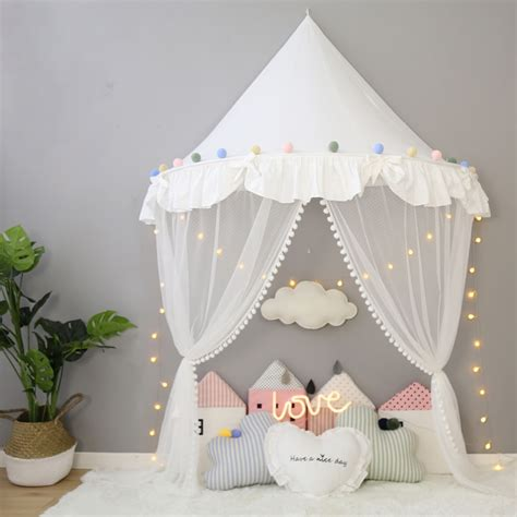 Foldable Kids Tent Girl Princess Teepees for Children ...