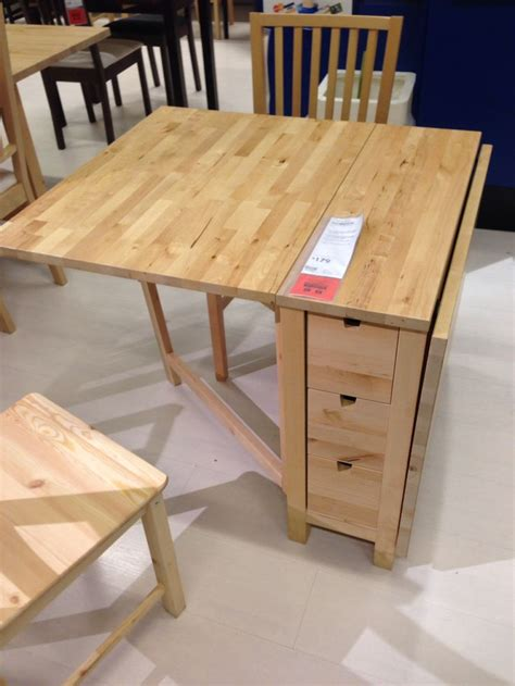 Folding table at IKEA | Dining table design, Table for ...