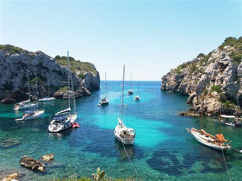 Fondeos en Menorca  I : Mahón   Cales Coves   Menorca ...