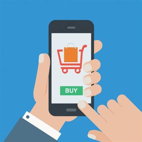 Fondo de compra online | Descargar Vectores gratis