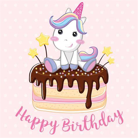 Fondo de feliz cumpleaños de unicornio   Descargar ...