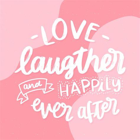 Fondo de letras de boda amor risa y felices para siempre ...