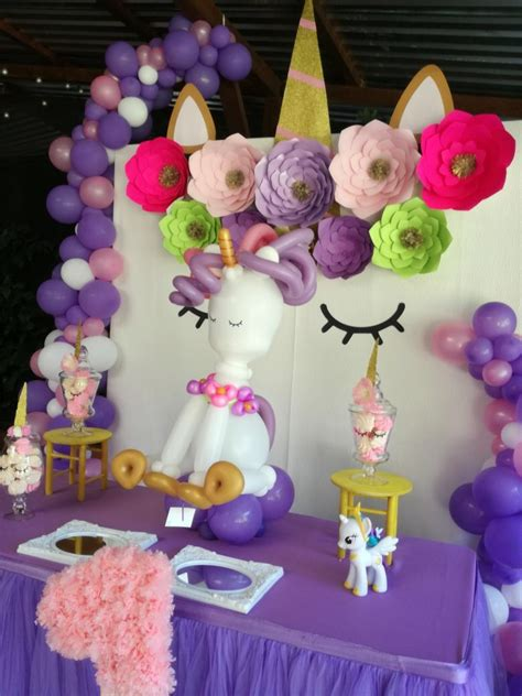 Fondo de mesa | Decoracion de unicornio, Decoracion fiesta ...