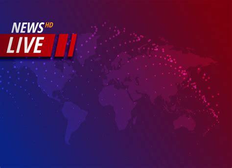 Fondo de noticias en vivo con espacio de texto | Vector ...