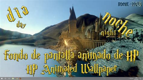 fondo de pantalla animado de harry potter para pc   YouTube