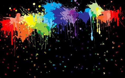 Fondo Manchas de colores en Fondos de Pantalla