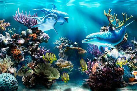 Fondo pantalla Delfines bajo Mar en 2019   Fondos de ...