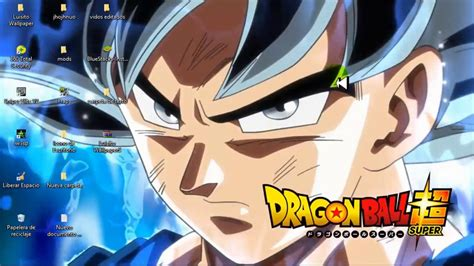 FONDOS ANIMADOS/ Goku Ultra Instinct /Limit Breaker Para ...