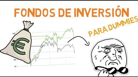Fondos de inversión para dummies   qué son y cómo ...
