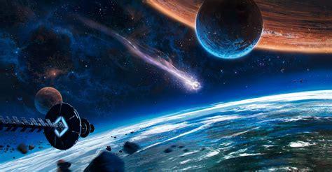 Fondos de pantalla : Arte fantasía, planeta, futurista ...