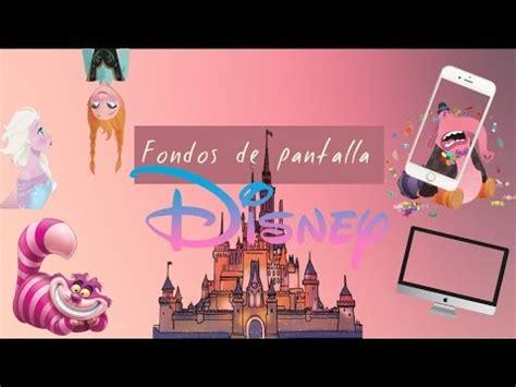 Fondos de pantalla Disney |Pc y teléfono|   YouTube