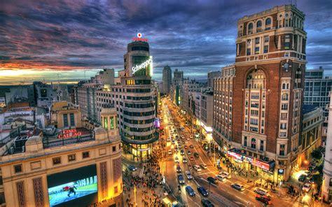 Fondos de pantalla España, Madrid, ciudad, calle ...