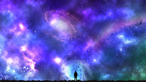 Fondos de pantalla : noche, galaxia, planeta, Nubes ...