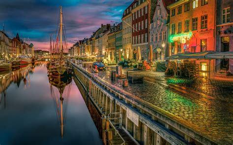 Fondos de pantalla : paisaje, luces, barco, ciudad ...