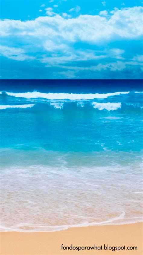 Fondos para Whatsapp: Fondo de un bonito mar