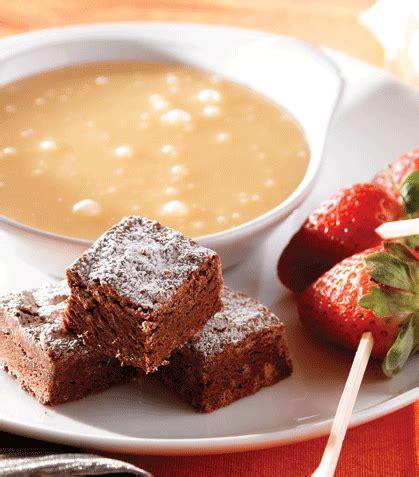 Fondue de chocolate blanco | Recetas de Comida