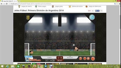 Football Heads Primera División de Argentina  Liga ganada ...