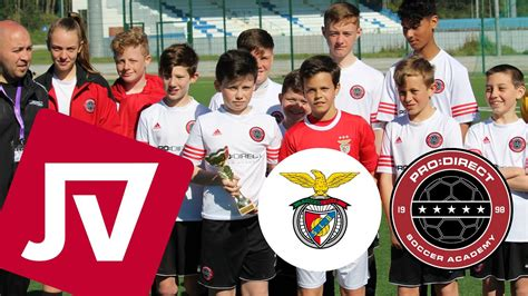 FOOTBALL HIGHLIGHTS   SL Benfica vs Pro Direct Soccer ...