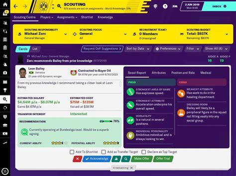 Football Manager 2019   Descargar para Mac Gratis