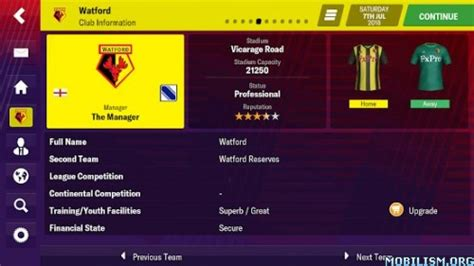 Football Manager 2019 Mobile Download Gratis Android APK
