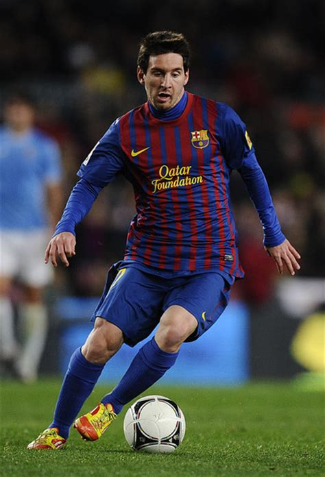Football Players: Lionel Messi 2012 Photos