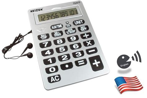 For blind or visually impaired | Calculator Talking Jumbo ...