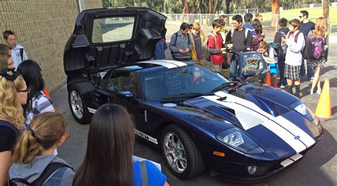 Ford GT Visits Career Day, and Carroll Shelby's Race ...