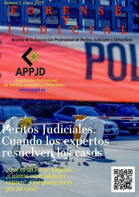 Forense y Judicial. Número 1 by Asociación Profesional de ...