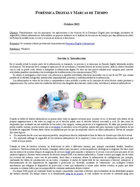 Forensia digital y marcas de tiempo.   Archivo de ...