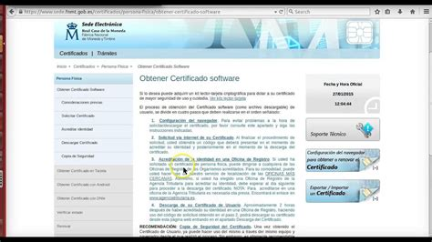 Formación online: FNMT. Solicitud del certificado digital ...