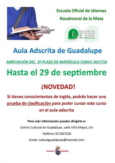 Formación y Empleo: ESCUELA OFICIAL DE IDIOMAS. AULA DE ...