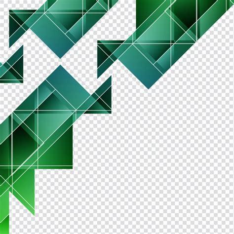 Formas geométricas verdes para fondos | Descargar Vectores ...