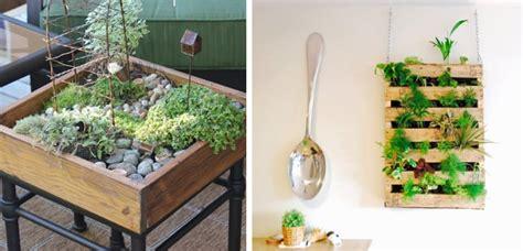 Formas originales de exponer plantas en el hogar