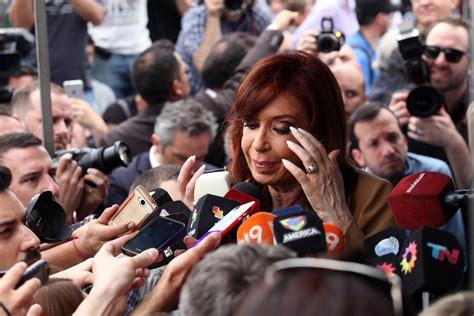 Former Argentine President Cristina Kirchner Indicted in ...