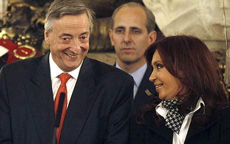 Former Argentine President Nestor Kirchner dies   Telegraph