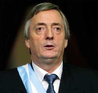 Former Argentinian President Nestor Kirchner dies   Series ...