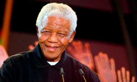 Former South African President & Human Rights Icon Nelson ...