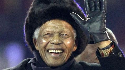Former South African president Nelson Mandela was a strong ...