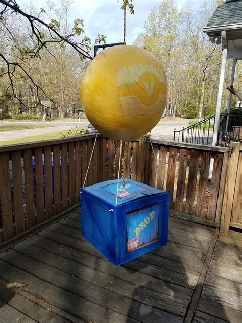 Fornite supply drop pinata. Balloon is made out of paper ...