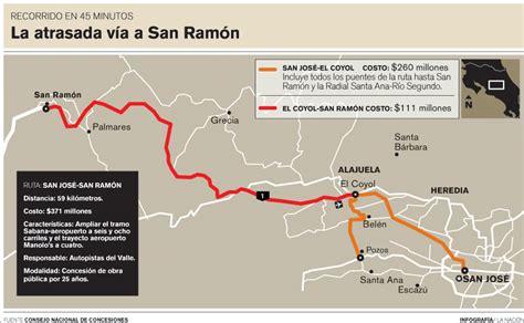 Foro de occidente llevaría concesión de vía San Jose  San ...