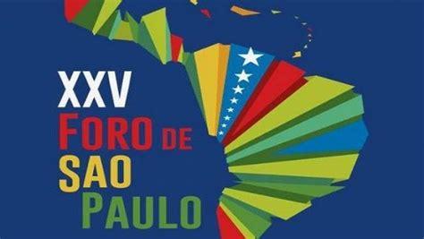 Foro de San Pablo, el disfraz político de la delincuencia ...