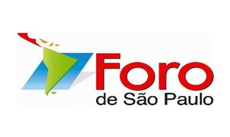 Foro de Sao Paulo debatirá sobre protección del ...