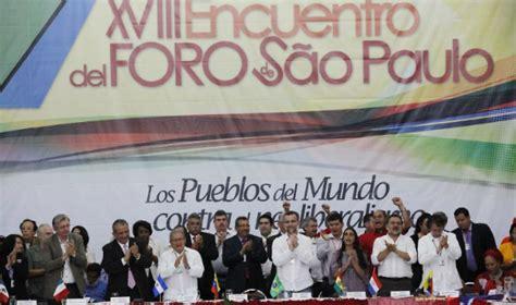 Foro de Sao Paulo rechazó bloqueo económico a Venezuela