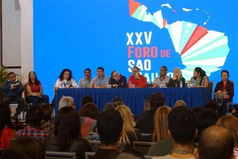 Foro de Sao Paulo se alinea contra el  imperialismo  y ...