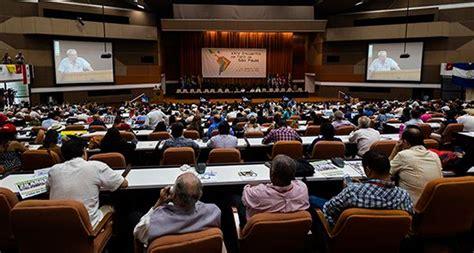 Foro Sao Paulo condena intento de desestabilización en ...