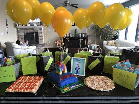 Fortnite birthday | Cakes | 10th birthday parties, 9th ...