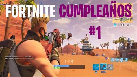 Fortnite   Feliz Cumpleaños   ubicacion de los 10 pasteles ...