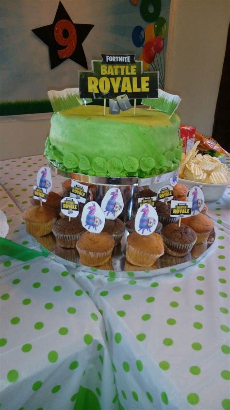 Fortnite torta   cumpleaños   Cumpleaños