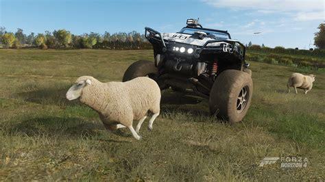 Forza Horizon 4   Can You Run Over Sheep?   YouTube