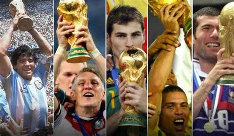 Foto 1: Listado de los campeones del mundo en la historia ...